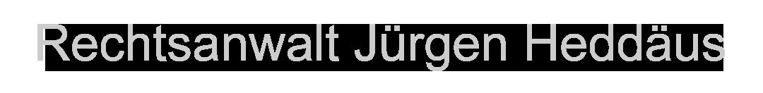 RECHTSANWALT JÜRGEN HEDDÄUS Logo